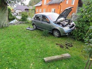 Nehoda v Bratrušově