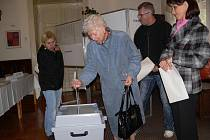 Komunální volby 2010 - voliči v Šumperku
