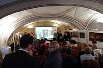 Sbor Carmen vystoupil v čele se sbormistrem Jiřím Novákem.