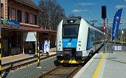 Oficiální zahájení elektrického provozu na železnici Desná