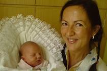 Kateřina Anna Suchomelová s maminkou Ivonou, 18. 6. 2008, Karlovice