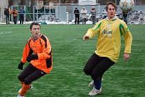 Šumperští fotbalisté porazili v přípravném utkání Litovel
