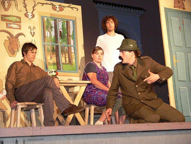 Divadlo v parku odstartovala divadelní skupina Kabaret Calembour