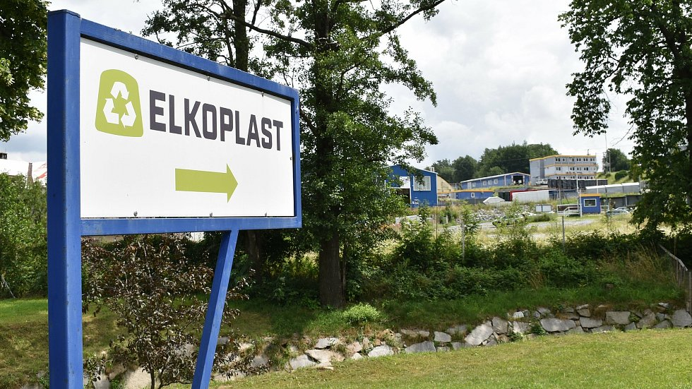 Supíkovice - areál firmy Elkoplast.
