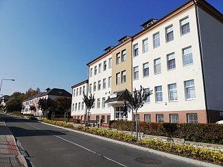 Budova Interny na Jiráskově ulici v Zábřehu