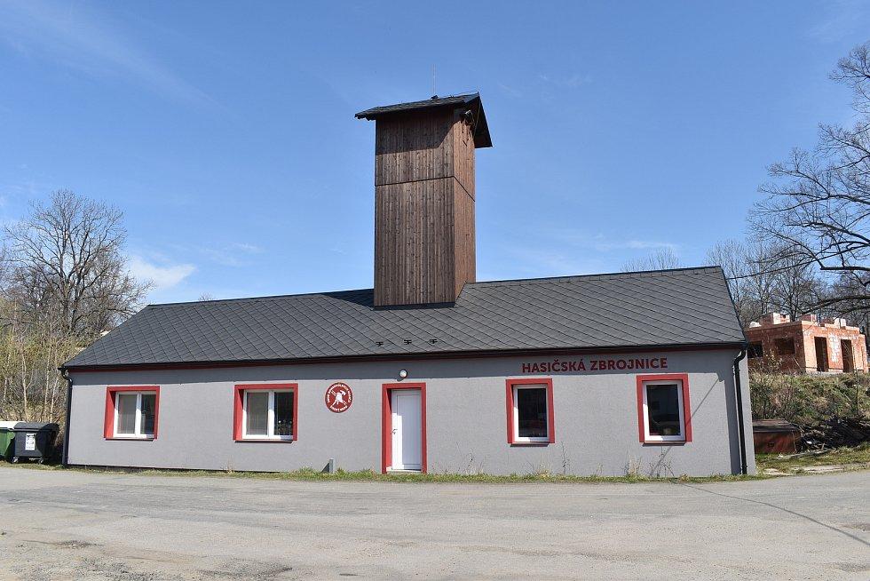 Mikulovice - Široký Brod - hasičská zbrojnice