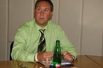 Mluvčím jesenické radnice je Martin Filgas.