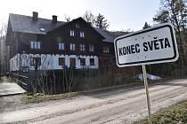 Penzion a výletní hospůdka Isolde v Račím údolí.