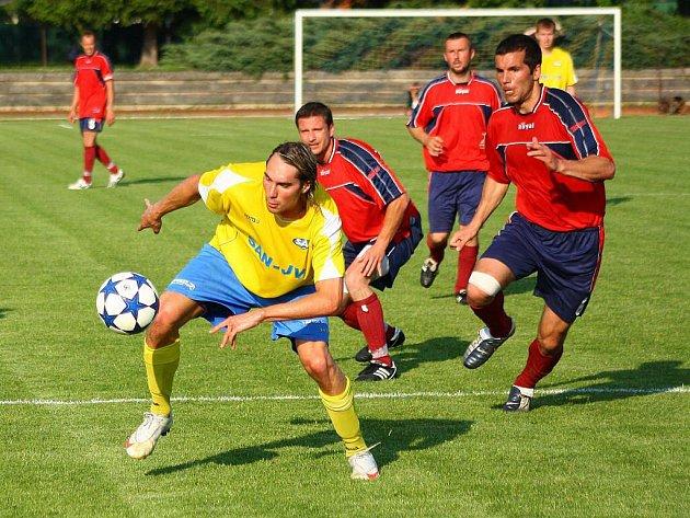 Šumperk versus Mikulovice (červené dresy)