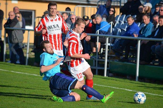 FK Jeseník - FC Dolní Benešov. Ilustrační foto.