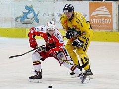 Hokejová příprava: Draci versus Prostějov.