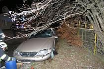 Nehoda v Temenické ulici v Šumperku