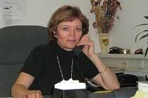 Vedoucí oddělení hospodářské kriminality jesenické policie Ludmila Andělová