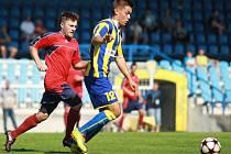 Snímky z utkání Opava B versus Mikulovice (červené dresy)