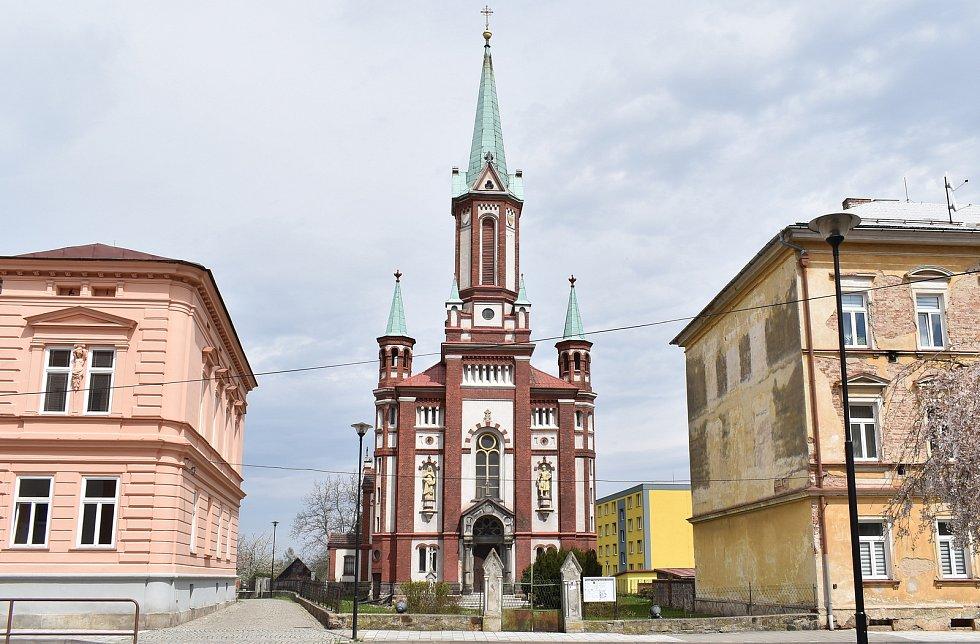 Vidnava - kostel sv. Františka z Assisi.