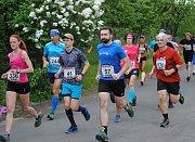 V Králci nedaleko Šumperku proběhl už osmý díl krosových závodů Chlapácký běh.
