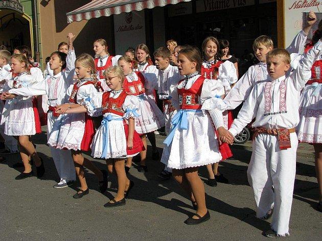 Mezinárodní folklórní festival  V Zábřeze na renko
