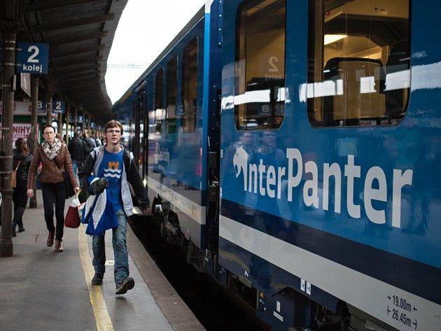 Nový elektrický vlak, rychlík InterPanter Českých drah