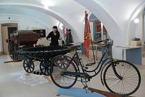 Nové Muzeum silnic ve Vikýřovicích u hlavní silnice ze Šumperka směrem na Rapotín už se chystá na otevření