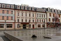 Jesenický hotel Slovan s obchodním centrem Alkron