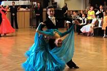 Taneční soutěž O pohár města Šumperka 4. března v Domě kultury Šumperk.