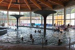 Termální park ve Velkých Losinách otevřel návštěvníkům.