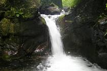 Vodopády Stříbrného potoka, zvané Nýznerovské