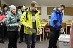 První kolo prezidentských voleb v Ostružné.
