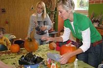 Dýňobraní, které vždy na podzim pořádá šumperská Vila Doris, vrcholilo v sobotu 24. října ve volnočasovém centru Komín v Šumperku