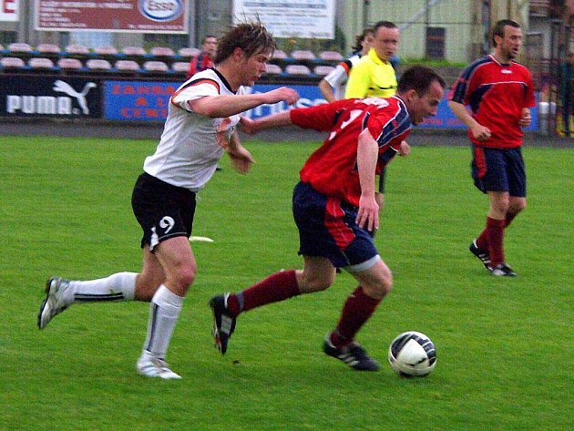 Nový Jičín versus Mikulovice (červené dresy)