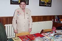 Šumperský skaut Pavel Krajíček.