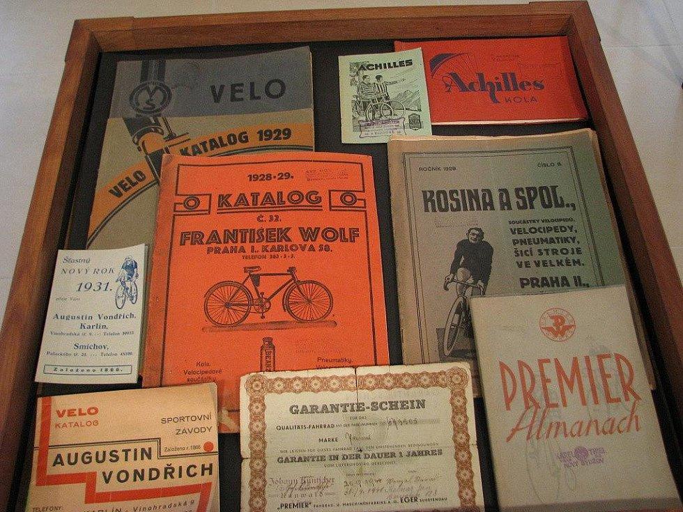 Ukázky ze sbírky cykloveteránů Vladimíra Koukoly ze Šumperka nabídne výstava v Muzeu silnic ve Vikýřovicích