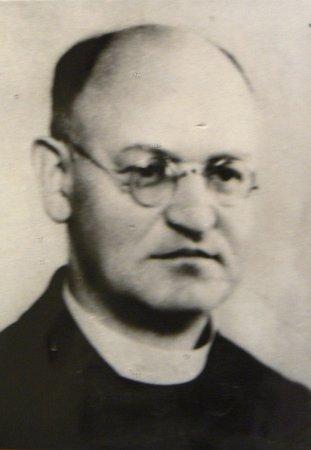Profesor a ředitel kněžského semináře ve Vidnavě Ludwig Wrzoł.