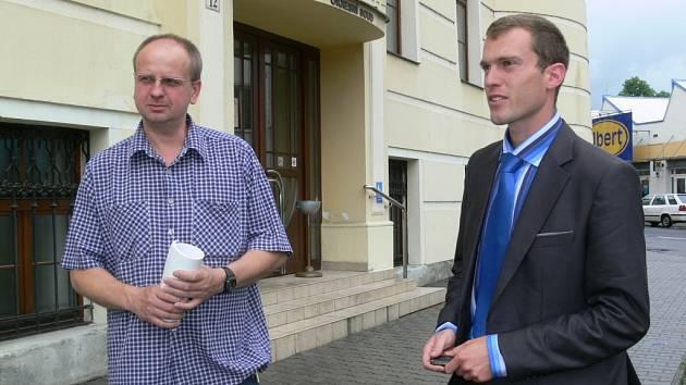 Ivan Vavřík před šumperským soudem