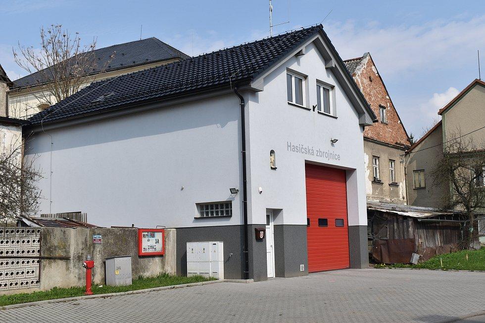 Město Úsov - hasičská zbrojnice