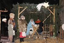V Sudkově sehráli v sobotu 20. prosince místní nadšenci živý betlém.
