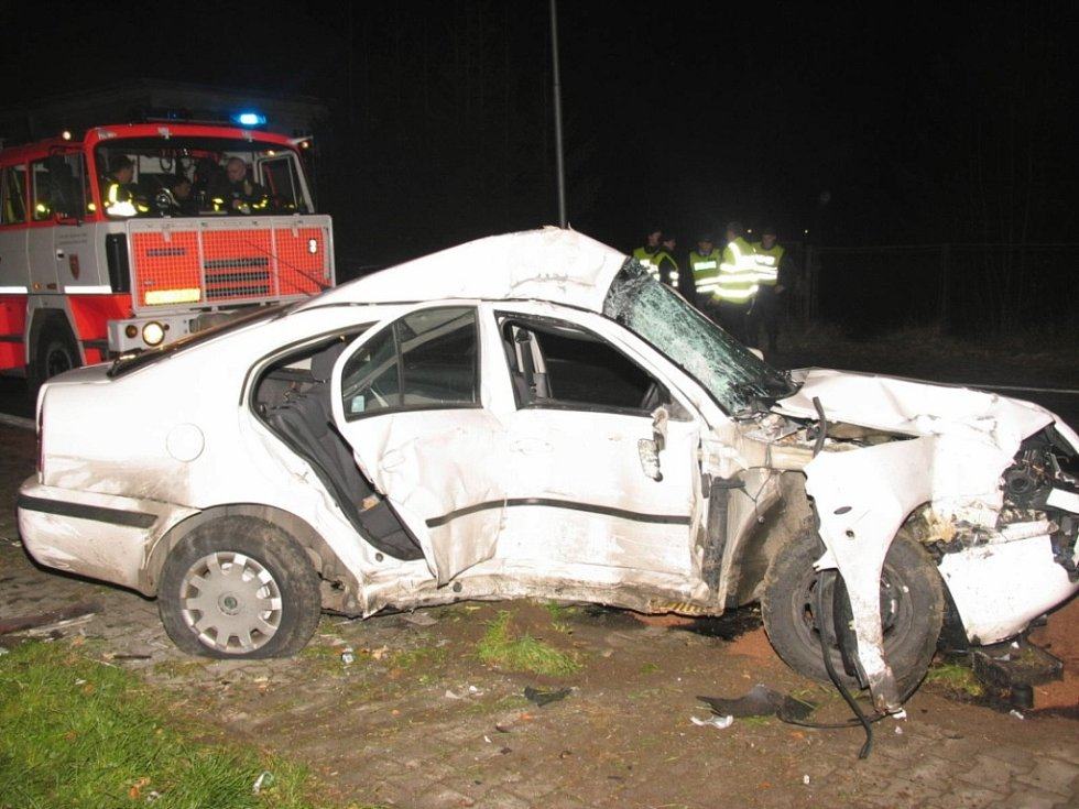 Vůz, ve kterém prchal před policisty sedmadvacetiletý muž.
