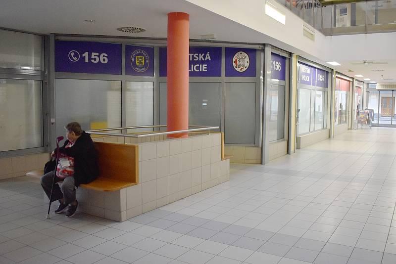 Obchodní centrum Alkron v Jeseníku.