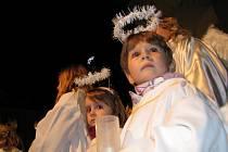 Mikulášský průvod v Šumperku