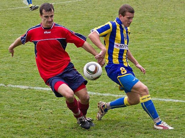 Opava B versus Mikulovice (červené dresy)