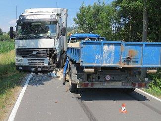 Nehoda u Mostkova na Šumpersku