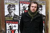 Petr Víša z kapely Priessnitz