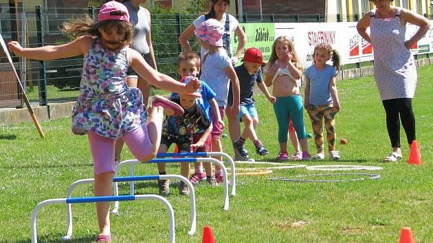 Den dětí na městském stadionu v Zábřehu