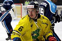 Jan Milfait v utkání s Vrchlabím