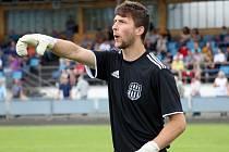 Zábřežský brankář Lukáš Toman dal gól Určicím