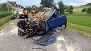 Nehoda  v Hradci nové Vsi