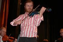 Pavel Šporcl v Domě kultury v Šumperku