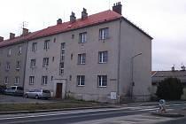 Dům číslo 44 v ulici Banskobystrické v Šumperku. Stav k 3. březnu 2020.