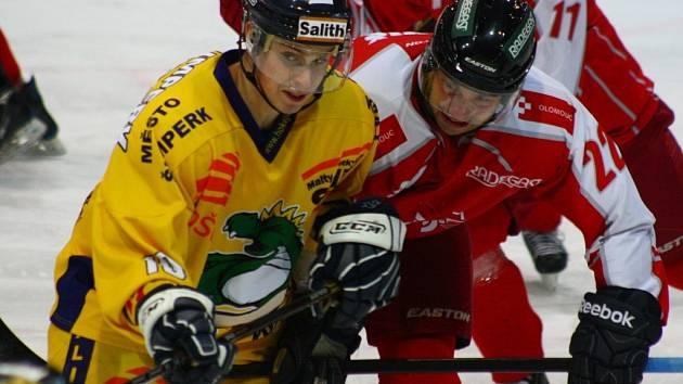 Draci versus Olomouc.
