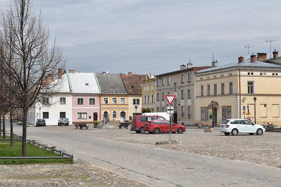 Vidnava - Mírové náměstí.